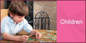 Playing Child - Home Health Care Agency
